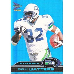 """RICKY WATTERS 00 PACIFIC PRISM """" HOLOGRAPHIC BLUE """" /100"""