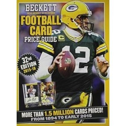 BECKETT NFL PRICE GUIDE