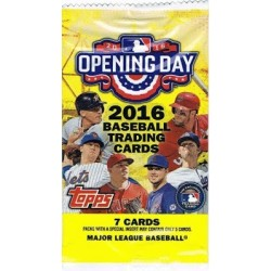 PAQUET HOBBY 2016  OPENING DAY BASEBALL