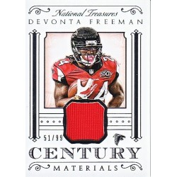 RODDY WHITE 2015 NATIONAL TREASURES JERSEY /49