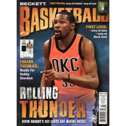 BECKETT MONTHLY NBA JULY 2016