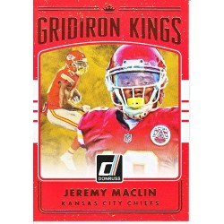 "CHARLES WOODSON 2016 DONRUSS "" GRIDIRON KINGS """