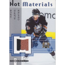 RON HEXTALL 2008-09 SP GAME USED DUAL JERSEY