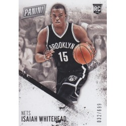 ISAIAH WHITEHEAD 2016-17 ROOKIE CARD /699