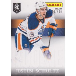 JUSTIN SCHULTZ 2013 NATIONAL HOCKEY CARD DAY RC /499