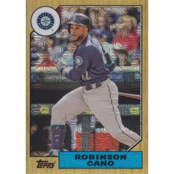 ROBINSON CANO 2017 TOPPS SILVER PACK 1987 CONTINUITY