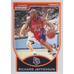 RICHARD JEFFERSON 2007-08 BOWMAN CHROME REFRACTOR /299