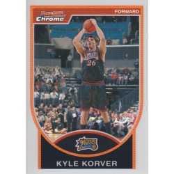 KYLE KORVER 2007-08 BOWMAN CHROME REFRACTOR /299