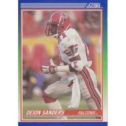 DEION SANDERS 1990 SCORE