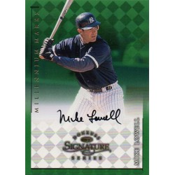MIKE LOWELL 1998 DONRUSS SIGNATURE