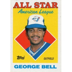 GEORGE BELL 1988 TOPPS ALL STAR