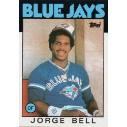 GEORGE BELL 1986 TOPPS