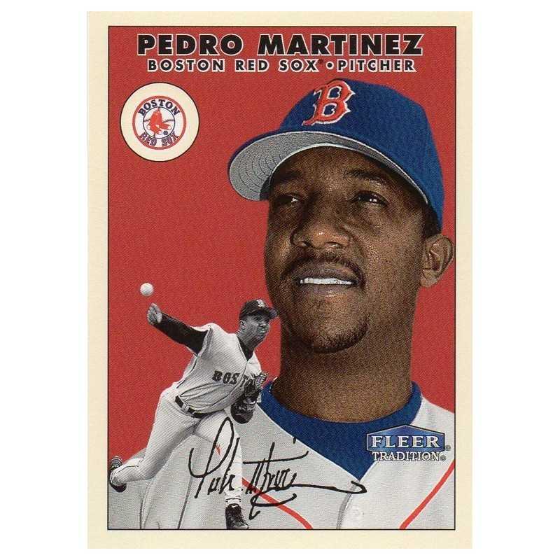 PEDRO MARTINEZ 2000 FLEER TRADITION TWIZZLERS