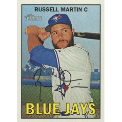 RUSSELL MARTIN 2016 TOPPS HERITAGE