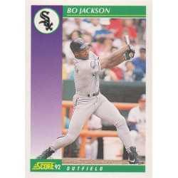 BO JACKSON 1992 SCORE