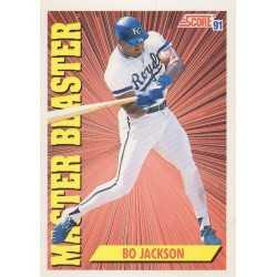 BO JACKSON 1991 SCORE MASTER BLASTER
