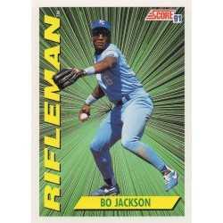 BO JACKSON 1991 SCORE RIFLEMAN