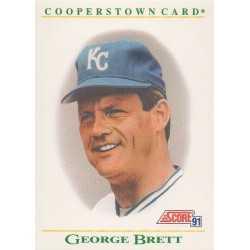 GEORGE BRETT 1991 SCORE COOPERSTOWN