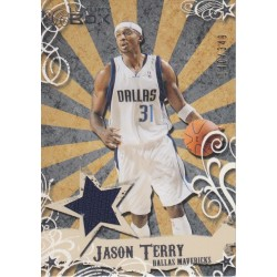 JASON TERRY 2006-07 LUXURY BOX JERSEY /349