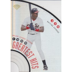 FRANK THOMAS 1996 DONRUSS GREATEST HITS /5000