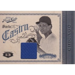STARLIN CASTRO 2012 PLAYOFF PRIME CUTS JERSEY /199