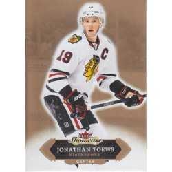 JONATHAN TOEWS 2016-17 FLEER SHOWCASE
