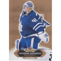 FREDERIK ANDERSEN 2016-17 FLEER SHOWCASE