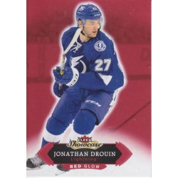 JONATHAN DROUIN 2016-17 FLEER SHOWCASE RED GLOW