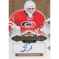 DANIEL ALTSHULLER 2016-17 FLEER SHOWCASE HOT PROSPECTS RC AUTO /499