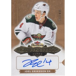 JOEL ERIKSSON 2016-17 FLEER SHOWCASE HOT PROSPECTS RC AUTO /499