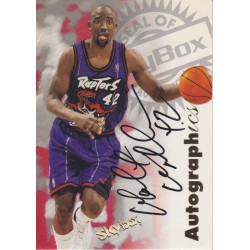 WALT WILLIAMS 1997 SKYBOX AUTOGRAPHICS AUTO