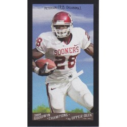 ADRIAN PETERSON 2009 GOODWIN CHAMPIONS BLACK BORDER MINI