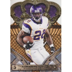 ADRIAN PETERSON 2011 CROWN ROYALE GOLD /25