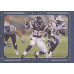 ADRIAN PETERSON 2008 MARSTERPIECES BLUE /50