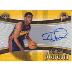IKE DIOGU 2005-06 TRILOGY SIGNS IF STARDOM AUTO
