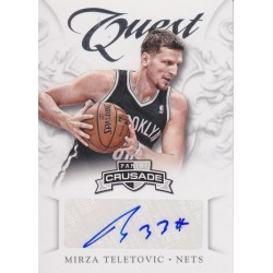 MIRZA TELETOVIC 2012-13 CRUSADE QUEST AUTO
