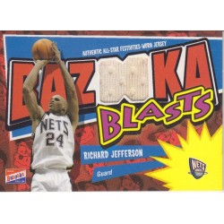 RICHARD JEFFERSON 2003-04 BAZOOKA BLASTS JERSEY