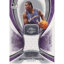 KWAME BROWN 2004-05 SP GAME USED JERSEY