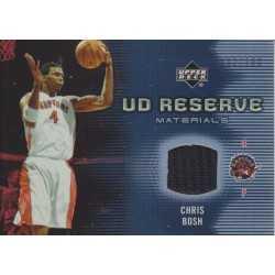 CHRIS BOSH 2006-07 UD RESERVE JERSEY /100