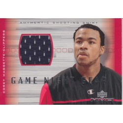 COREY MAGGETTE 2001-02 UD MVP SHOOTING SHIRT