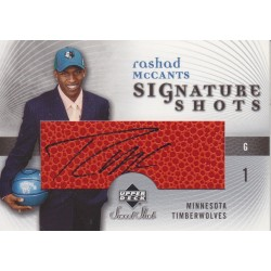 RASHAD MCCANTS 2005-06 SWEET SHOT AUTO
