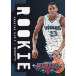 ANTHONY DAVIS 2012-13 PANINI MARQUEE ROOKIE