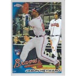 JASON HEYWARD 2010 TOPPS CHROME ROOKIE REFRACTOR