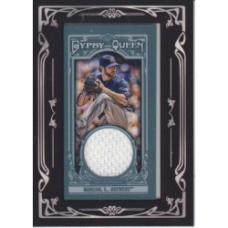 SHAUN MARCUM 2013 GYPSY QUEEN BLACK FRAMED MINI JERSEY
