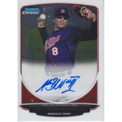ADAM WALKER 2013 BOWMAN CHROME AUTO