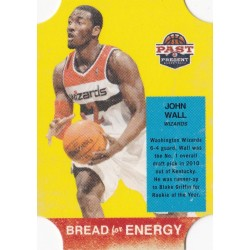 JOHN WALL 2011-12 PANINI PAST & PRESENT BREAD FOR ENERGY