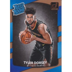 TYLER DORSEY 2017-18 DONRUSS RATED ROOKIE