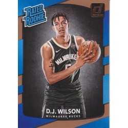 D.J WILSON 2017-18 DONRUSS RATED ROOKIE
