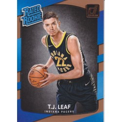 T.J LEAF 2017-18 DONRUSS RATED ROOKIE