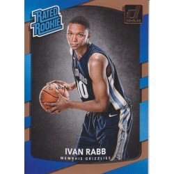 IVAN RABB 2017-18 DONRUSS RATED ROOKIE